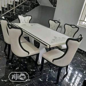 High Grade Royal Marble Dining Table   Furniture for sale in Lagos State, Ibeju