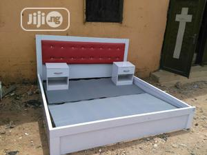 Bed Frame With Two Bed Side   Furniture for sale in Lagos State, Ajah