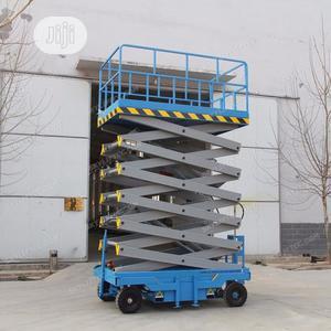 Mobile Scissor Lift 14 Meter | Heavy Equipment for sale in Lagos State, Ikeja