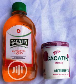 CACATIN Multipurpose Cleaner Antiseptic 220ml / Herbal Cream | Baby & Child Care for sale in Lagos State, Alimosho