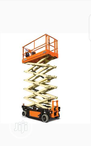 Mobile Slscissor Lift 12 Meter | Heavy Equipment for sale in Lagos State, Ikeja