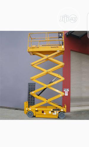 Mobile Scissor Lift 9 Meters | Heavy Equipment for sale in Lagos State, Ikeja