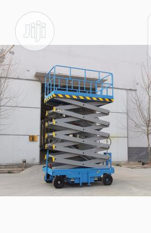 Mobile Scissor Lift 9 Meters   Heavy Equipment for sale in Lagos State, Ikeja