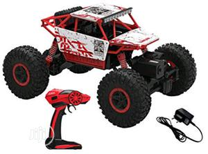 1:18 Scale Remote Controlled Rock Crawler Monster Truck, Red   Toys for sale in Lagos State, Lagos Island (Eko)