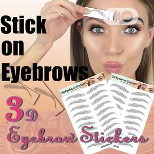 Women Imitation Eyebrow Sticker Tattoo For Beautiful Face | Makeup for sale in Lagos State, Yaba