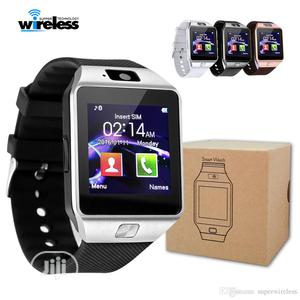 DZ09 Smartwatch Built In Phone Camera Sim Card For Android Ios | Smart Watches & Trackers for sale in Lagos State, Ikeja