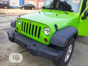 Jeep Wrangler 2013 Green   Cars for sale in Lagos State, Isolo