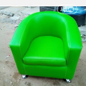 Clean Green Single Bucket Sofa | Furniture for sale in Lagos State, Apapa