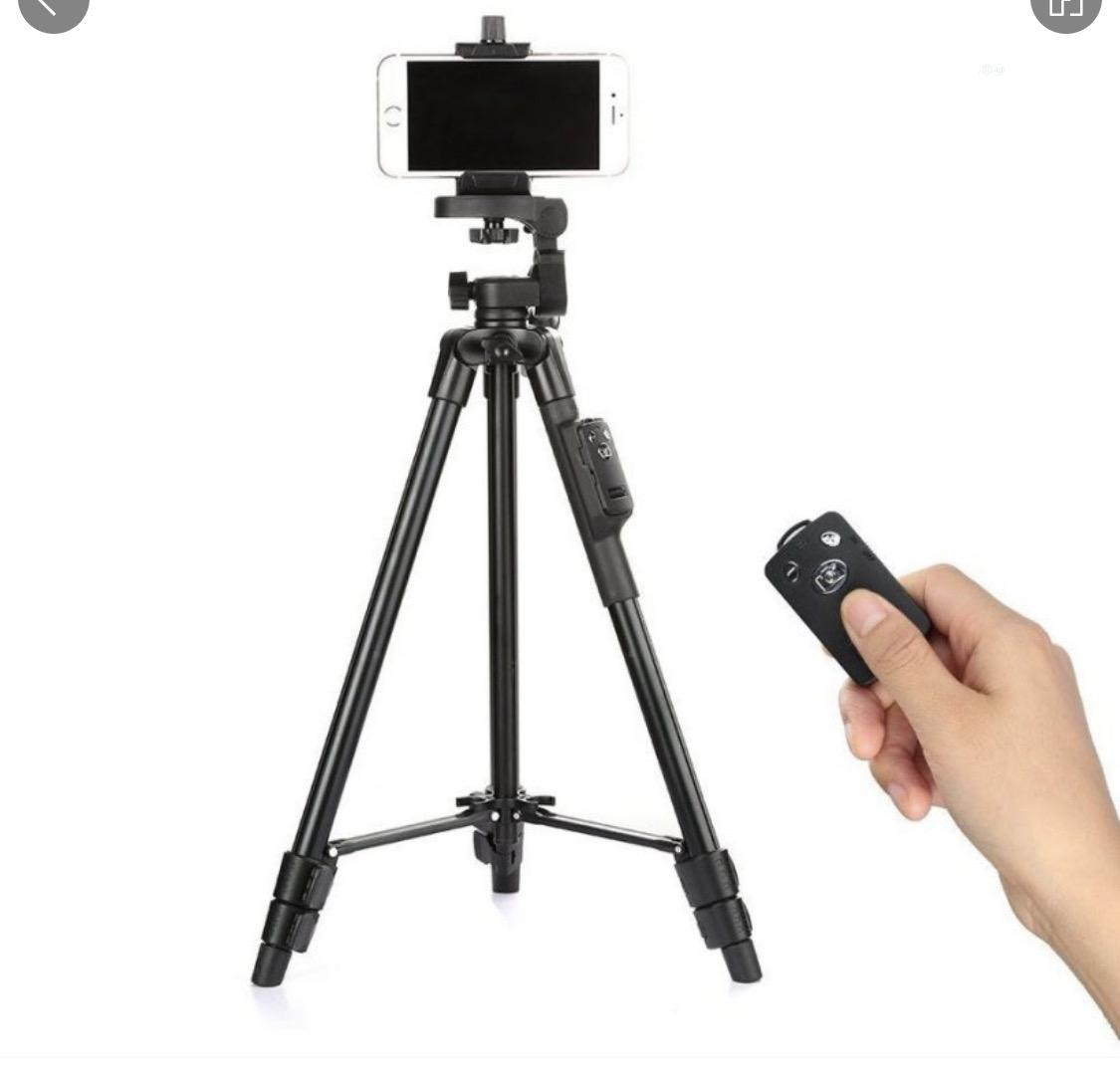 YUNGTENG VCT-5208RM Smartphones Tripod Stand +Remote Control