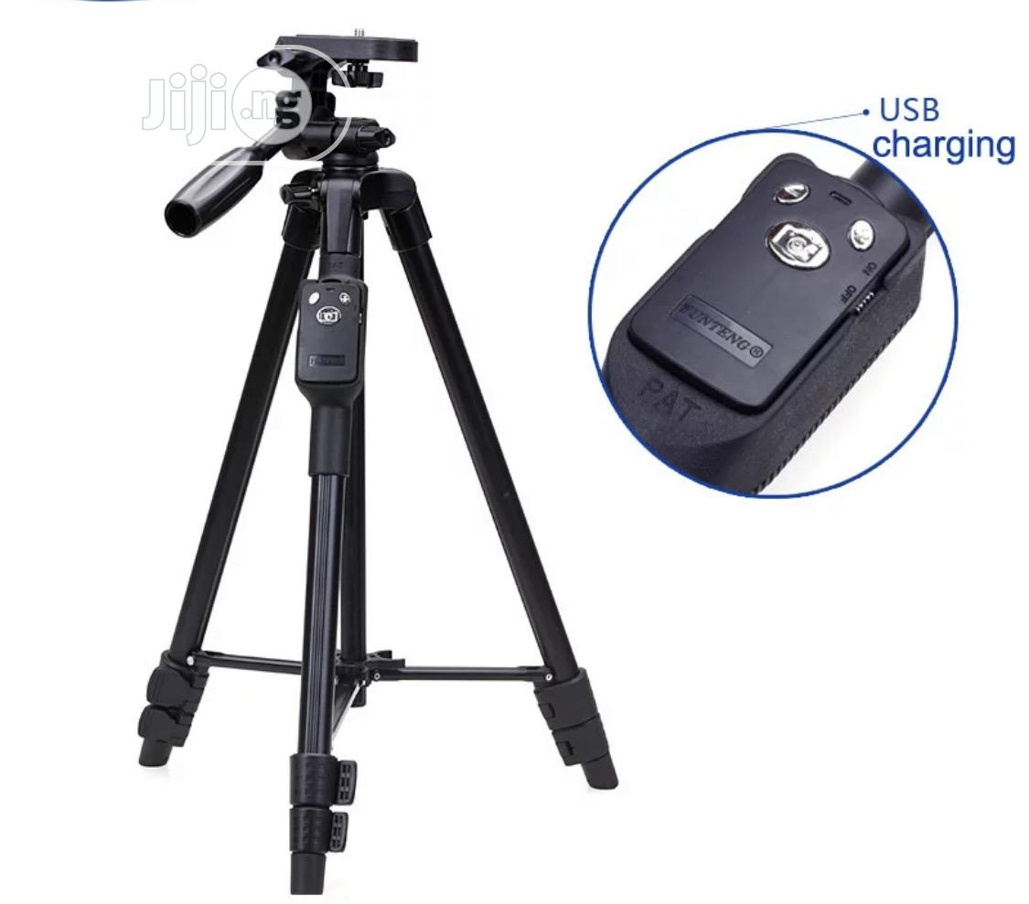 YUNGTENG VCT-5208RM Smartphones Tripod Stand +Remote Control | Accessories & Supplies for Electronics for sale in Port-Harcourt, Rivers State, Nigeria