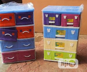 Mixed Colour Detachable Plastic Storage Cabinet Drawer   Children's Furniture for sale in Lagos State, Ajah