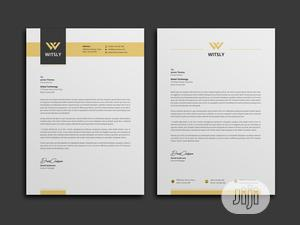 Design And Print Letter Headed Paper | Printing Services for sale in Lagos State, Isolo
