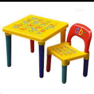 Children Plastic Table And Chair   Children's Furniture for sale in Lagos State, Lagos Island (Eko)