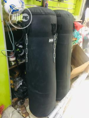 Premium Quality Big Leather Punching Bag | Sports Equipment for sale in Lagos State, Lekki