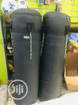 Premium Quality Big Leather Punching Bag | Sports Equipment for sale in Lagos State, Ojo