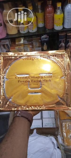 Golden Bio Collagen Facial Masks | Skin Care for sale in Lagos State, Amuwo-Odofin