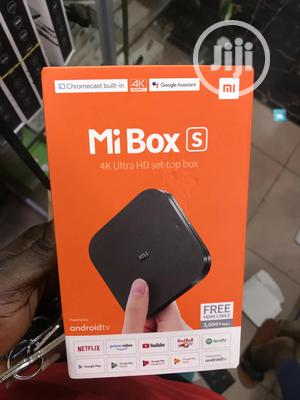 Xiaomi Mi Box S Android TV.   Accessories for Mobile Phones & Tablets for sale in Lagos State, Ikeja