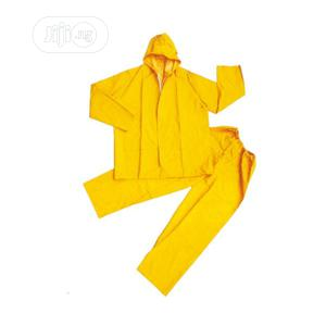 Gown PVC Raincoat Without Reflective(Yellow,Navy Blue Green) | Clothing for sale in Lagos State, Ikeja