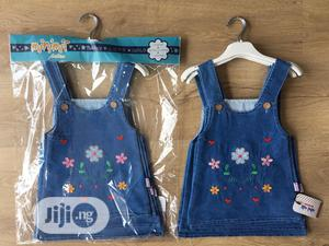 Girl Denim Dungarees Dress   Children's Clothing for sale in Lagos State, Surulere