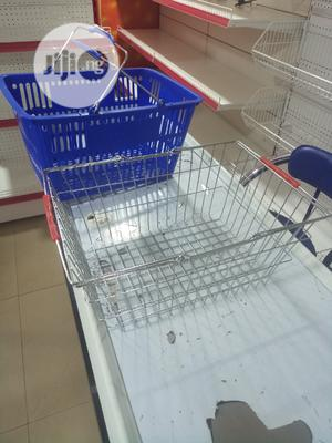 Blue Supermarket Basket   Store Equipment for sale in Lagos State, Ojo