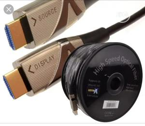 HDMI Cable 100 Metres Ultra HD 4k Resolution | Accessories & Supplies for Electronics for sale in Lagos State, Ojo