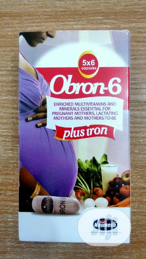 Obron 6 X 30 Capsules   Vitamins & Supplements for sale in Lagos State, Surulere