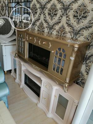 Imported Quality #964 Electric Fireplace TV Stand   Furniture for sale in Lagos State, Lekki
