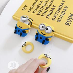 Minion Pouch for Airpod 2   Accessories & Supplies for Electronics for sale in Lagos State, Lekki