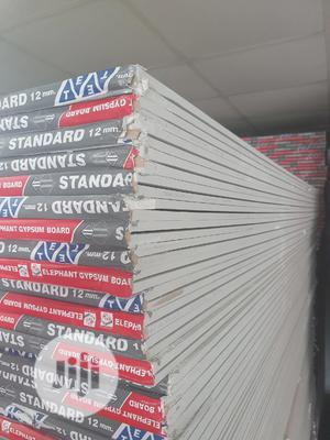 POP Plasterboard 3mx10mm Thick - Drywall Gypsum Board   Building Materials for sale in Lagos State, Yaba