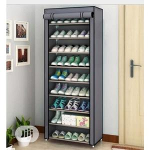 Shoe Rack With Cover | Home Accessories for sale in Lagos State, Lagos Island (Eko)