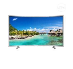 "32"" Polystar Andriod Smart Curve Tv PV-JP32CV1100BD | TV & DVD Equipment for sale in Lagos State, Alimosho"
