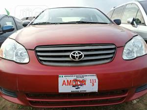 Toyota Corolla 2004 LE Red | Cars for sale in Oyo State, Ibadan