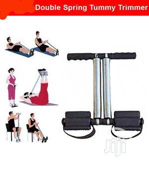 New Double Spring Tummy Trimmer | Sports Equipment for sale in Rivers State, Port-Harcourt