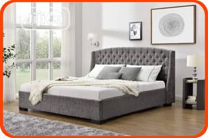 Modern Upholstery Bed Frame,6 By 6 | Furniture for sale in Lagos State, Ikeja