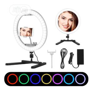 13 Inch Selfie Desktop LED Ring Light RGB Color Light 35W | Accessories & Supplies for Electronics for sale in Lagos State, Amuwo-Odofin