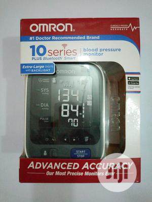 OMRON 10 Series Blood Pressure Monitor Plus Bluetooth Smart.   Medical Supplies & Equipment for sale in Lagos State, Surulere
