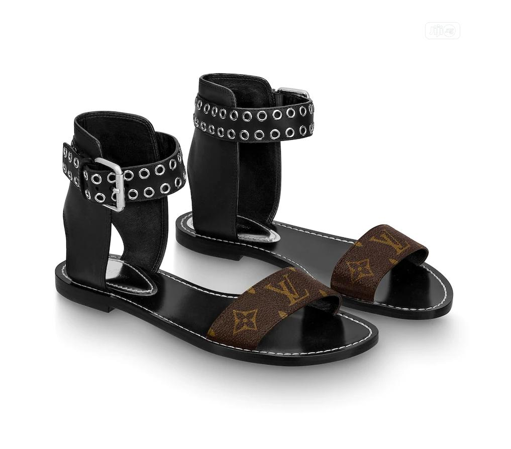 Louis Vuitton Female Sandals | Shoes for sale in Magodo, Lagos State, Nigeria