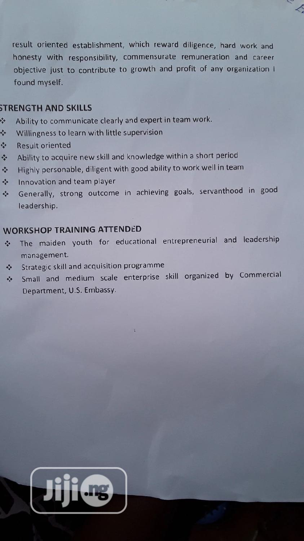 Teaching CV | Teaching CVs for sale in Ibadan, Oyo State, Nigeria