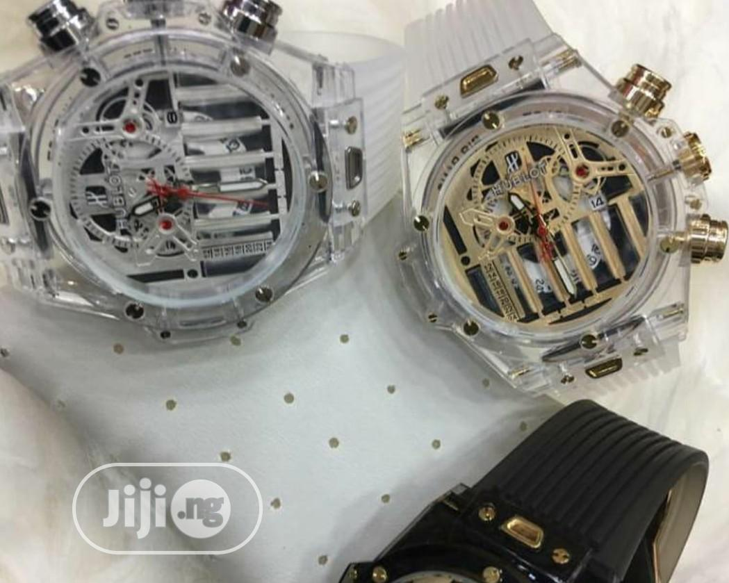 Quality Transparent Hublot Watch   Watches for sale in Ilorin West, Kwara State, Nigeria