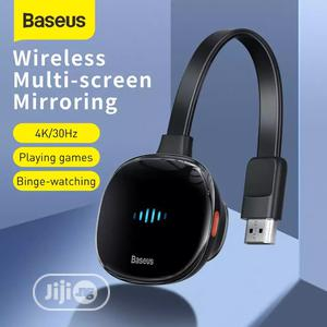 Baseus HDMI To USB Type C Adapter TV Stick 4K Wifi Displays | Accessories & Supplies for Electronics for sale in Lagos State, Ikeja