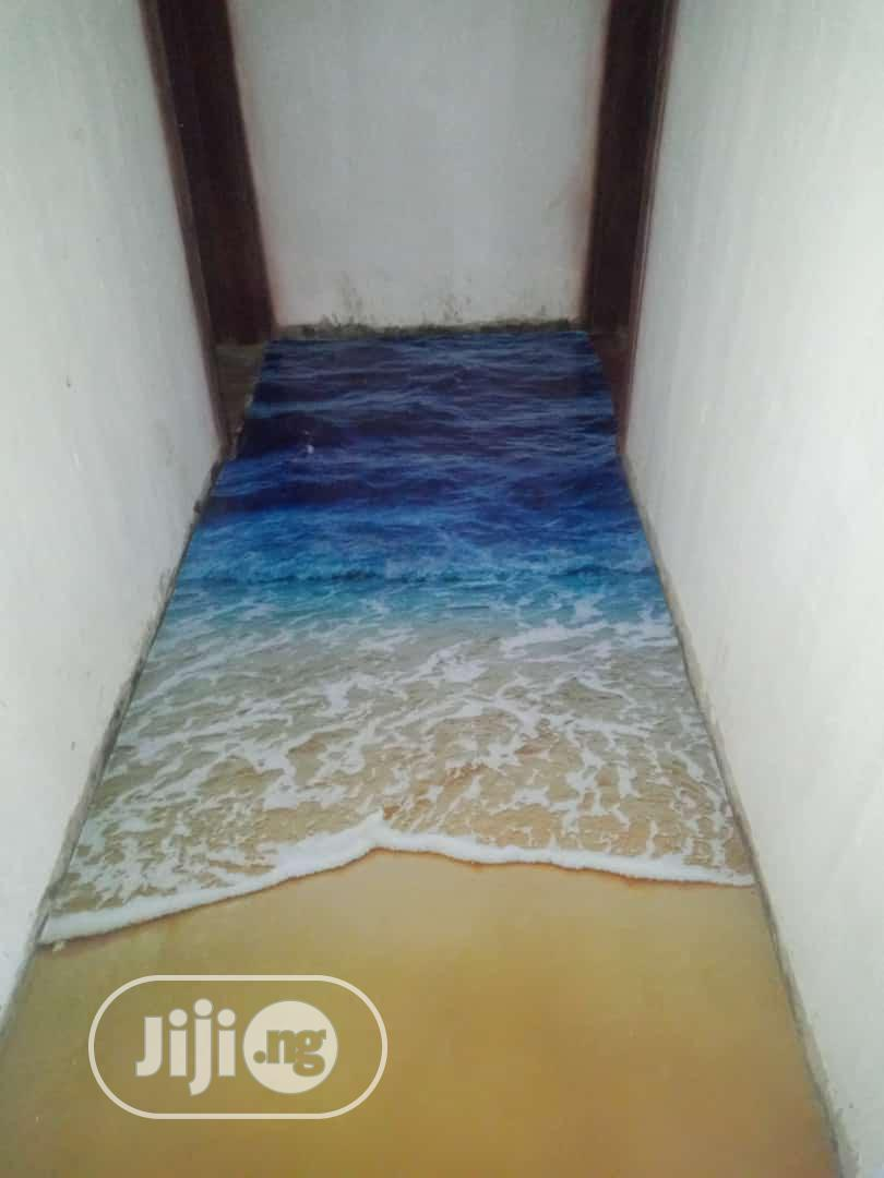 Industrial Epoxy Floor Finish,3d Epoxy Floor Finish | Building & Trades Services for sale in Ajah, Lagos State, Nigeria