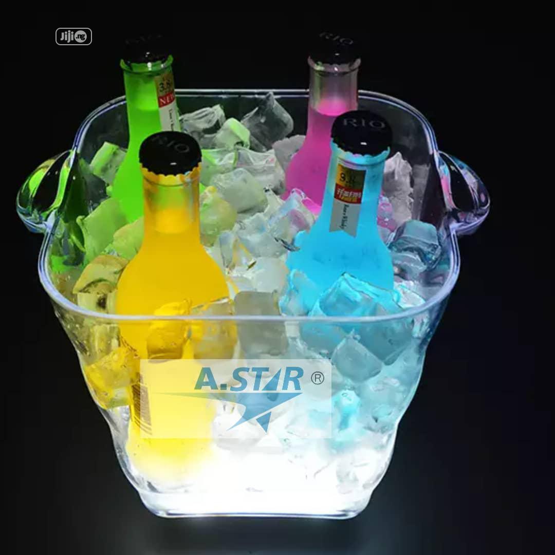 Led Acrylic Champagne Bucket