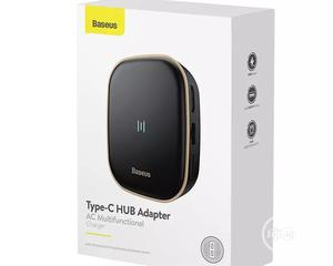 Baseus 6 In 1 USB C HUB Type C To Multi HDMI RJ45 USB 3.0 | Computer Accessories  for sale in Lagos State, Ikeja