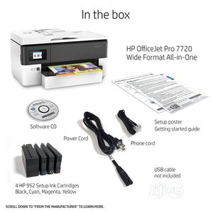 HP Officejet Pro 7720 (Wide Format)   Printers & Scanners for sale in Abuja (FCT) State, Wuse 2