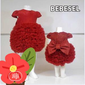Baby Girl Red Gown | Children's Clothing for sale in Lagos State, Ojo