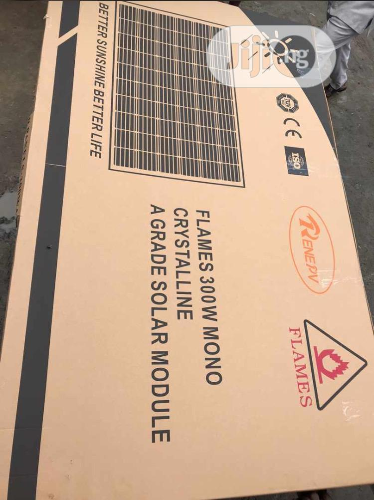 300w Flame Solar Panel Available With 35yrs Warranty