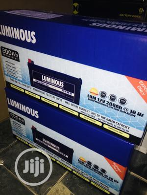 200ah 12v Luminuos Battery Available With 1yr Warranty | Solar Energy for sale in Lagos State, Ajah