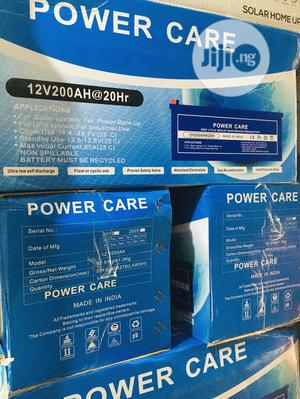 200ah 12v Power Care Battery Available With 1yr Warranty | Solar Energy for sale in Lagos State, Lekki