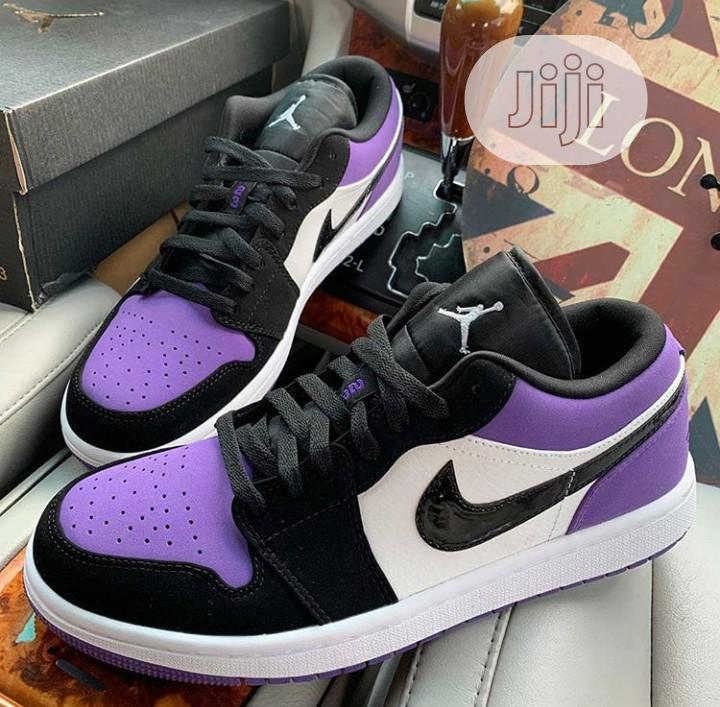 Air Jordan 1 Low (Court Purple)   Shoes for sale in Magodo, Lagos State, Nigeria