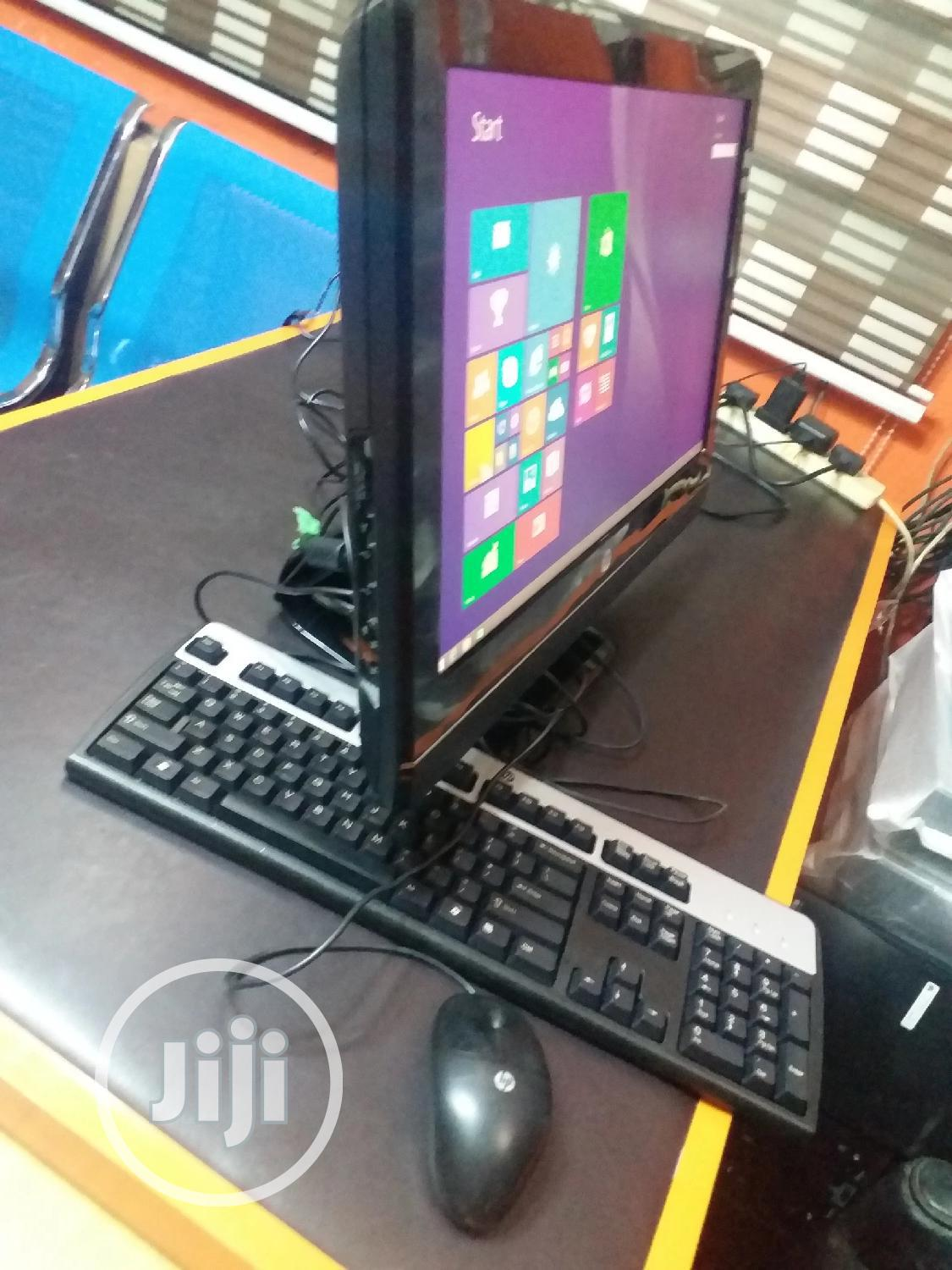 Desktop Computer HP AiO 22 4GB Intel Core 2 Duo HDD 320GB   Laptops & Computers for sale in Ikeja, Lagos State, Nigeria